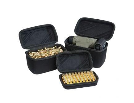 US Peacekeeper Gear/Ammo Case, Black, Set of 3 - P25020