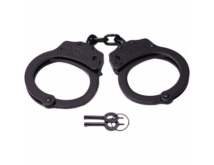 CampCo Professional Double-Lock Handcuff, Black - UZIHCPROB