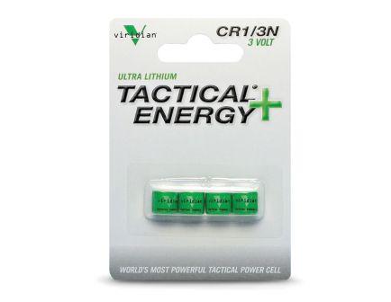 Viridian Tactical Energy + 3 V Lithium Battery, 4/pack - 13N4