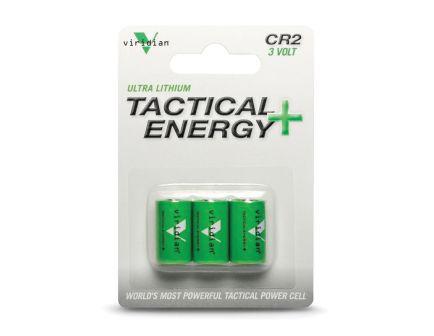Viridian 3 V CR2 Lithium Battery, 3/pack - CR23