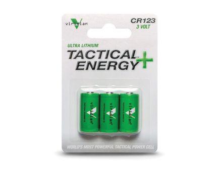Viridian 3 V Lithium Battery, 3/pack - CR1233