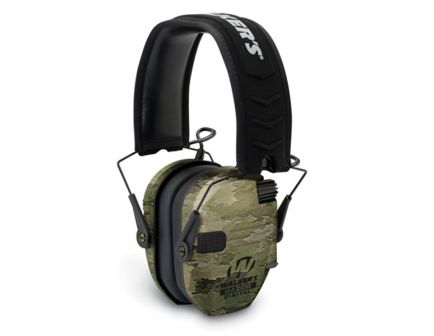 Walkers Game Ear Razor Slim 27 dB Over the Head Digital Passive Earmuff, ATACS-IX Camo - GWPDRSEMAIX