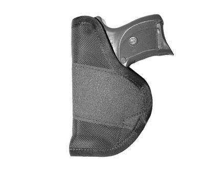 "Crossfire Shooting Gear The Grip Clip Ambidextrous Hand 3"" to 3.5"" Compact IWB Holster, Textured Black - CRFGRPCLPSA1C3"