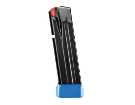waltherarms 15 Round 9mm Magazine, Black with Blue Base - 2836335