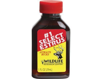 Wildlife Research Select Estrus Hunting Scent Doe Urine w/ Estrus, 1 oz Bottle - 410
