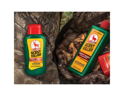 Wildlife Research Scent Killer Body Wash and Shampoo, 12 oz Bottle - 540