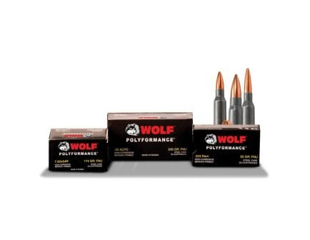 Wolf Performance PolyFormance 148 gr FMJ 7.62x54mmR Ammo - MC76254R148
