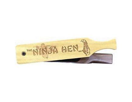 Woodhaven The Ninja Hen Turkey Box Call, Yellow/Brown - WH088