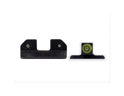 XS Sights RAM Night Sight for Sig P320 and P365 Pistols, Green Front/Black Rear - SI-R015P-6G