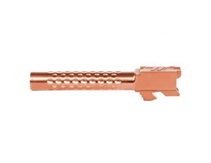 ZevTech Optimized Match Grade Standard Barrel for Glock 17 Gen 1-4 Pistol, Bronze - BBL-17-OPT-BRZ