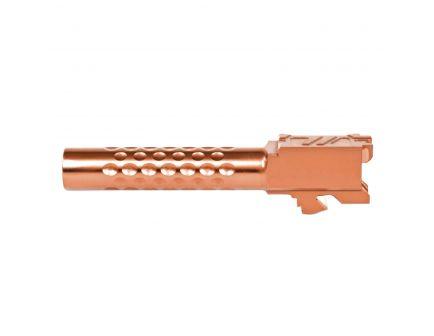 ZevTech Optimized Match Grade Standard Barrel for Glock 19 Gen 1-5 Pistol, Bronze - BBL-19-OPT-BRZ