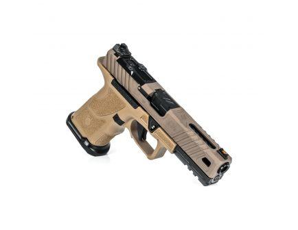 """ZevTech OZ-9 Standard 4.49"""" 9mm Pistol, FDE - OZ9-STD-COVERT-FDE-B"""