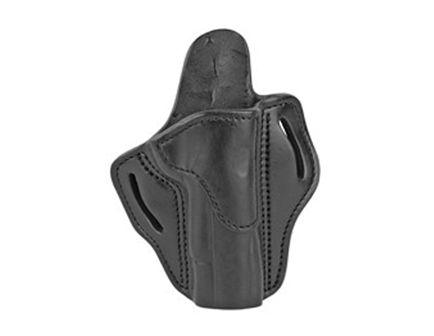 "1791 Belt Holster Fits 4"" - 5"" 1911 Pistols RH, Black Leather - BH1-BLK-R"