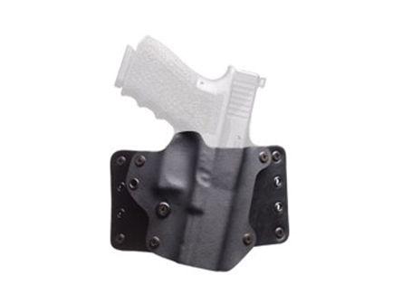 "BlackPoint Tactical Leather Wing 1.75"" Belt Loop RH OWB Kydex  Holster For 4"" 1911, Black - 100086"