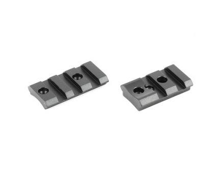 Burris XTR Tactical Steel 2 Piece Base fits Remington 700 Short & Long, Matte Finish - 410600