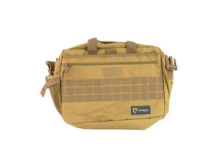 Drago Gear Tactical Laptop Briefcase, Tan - 15-305TN