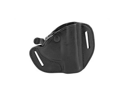 Bianchi Model 82 CarryLok Leather RH OWB Holster For Glock 19/23, Black - 22152