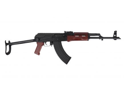 PSAK-47 GF3 Forged Wood Under Folder Rifle, Red