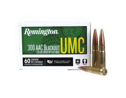 Remington UMC 300 AAC Blackout Ammo 220 Grain OTFB 60 rds - 24055
