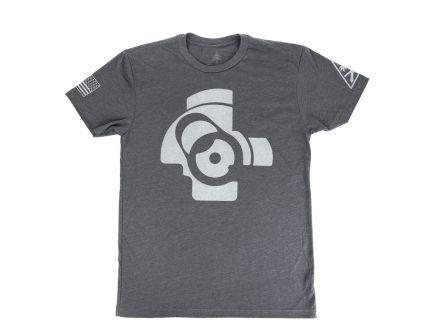 PSA Custom AK Bolt Face Shirt - Heavy Metal Grey