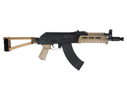 PSA AK-P GF3 MOE Triangle Side Folding Pistol, FDE