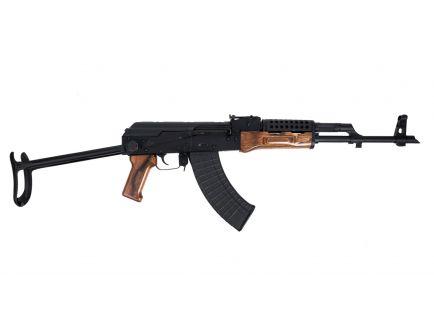 PSAK-47 GF3 Forged Nutmeg Wood Under Folder Rifle with Cheese Grater Upper Handguard