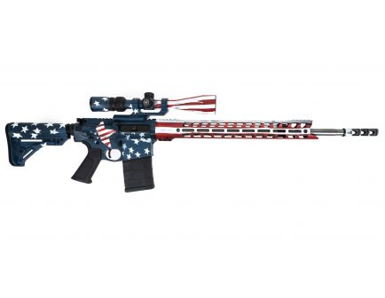 "Silent Majority Grunt - AR-10 Rifle w/ 17""  Handguard & 20"" Barrel (Black)"