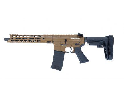 "Lead Star Arms Grunt AR-15 Pistol 300 Blackout w/ 11"" Handguard, Coyote"