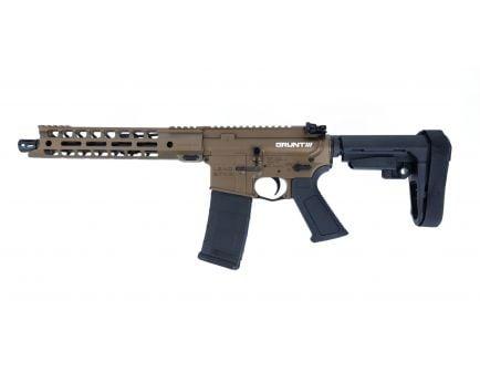 "Lead Star Arms Grunt AR-15 Pistol 300 Blackout w/ 11"" Handguard, Burnt Bronze"
