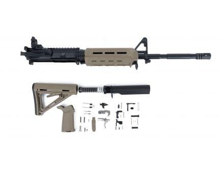 "BLEM PSA 16"" Carbine-Length 5.56 NATO 1/7 Nitride MOE EPT Freedom Rifle Kit with Rear MBUS, Flat Dark Earth"