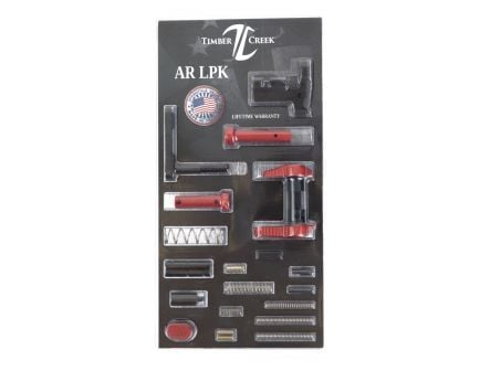 Timber Creek Lower Parts Kit, Red