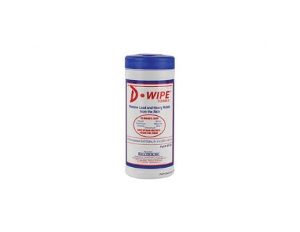 """D-Lead 6""""x7.5"""" Disposable Wipes, 12 Canisters per Case - WT-040"""