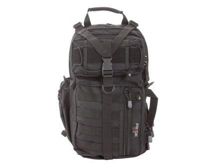 "Allen Lite Force 18""x9.75""x7.5"" Tactical Sling Pack, Black Endura Fabric - 10854"