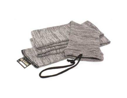 """Allen 6 Pack of 52"""" Knit Gun Socks, Gray - 13160"""