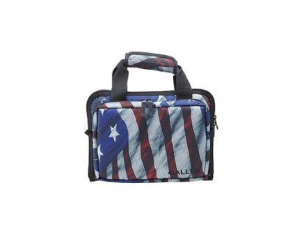Allen Victory Duplex Double Handgun Case, Endura Fabric w/ American Flag Finish - 7609