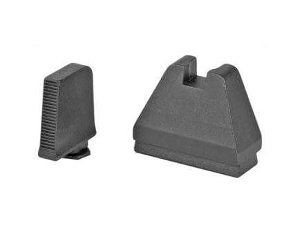 AmeriGlo 9XL Tall Suppressor Height Sights For All Glocks Except 42/43, Black - GL-808