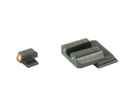 AmeriGlo Spartan Tactical Operator Night Sights For Smith & Wesson Shield, Green Front Green Tritium Operator Rear - SW-456