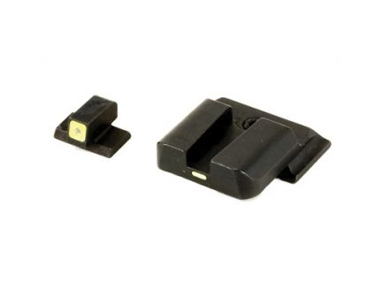 AmeriGlo CAP Sight Set For Smith & Wesson M&P With Green Rear, Horizontal Front - SW-614