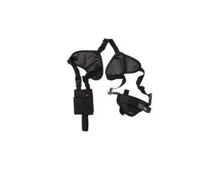 "Bulldog Cases Deluxe Pro Ambi Shoulder Holster, Fits Large Revolver w/ 2.5"" Barrel, Black - WSHD 2"