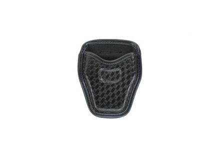 Bianchi 7934 Accumold Elite Basketweave Open Top Handcuff Case, Black - 22966