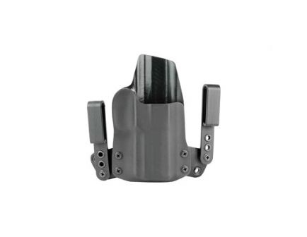 """BlackPoint Tactical Mini Wing 1.75"""" Loop RH Tuckable IWB Holster For Sig P320C, Black - 103440"""