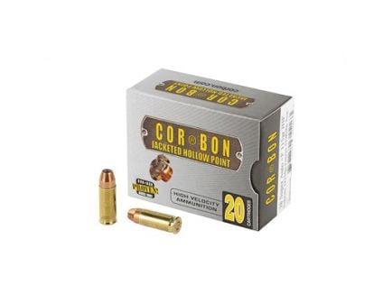 CorBon Self Defense 38 Super Ammo 115 Grain JHP +P, 20 rds/box - 38X11520