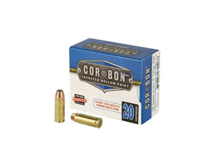 CorBon Self Defense 38 Super Ammo 125 Grain JHP +P, 20 rds/box - 38X12520