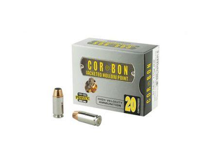 CorBon Self Defense 40 S&W Ammo 135 Grain JHP, 20 rds/box - 40135