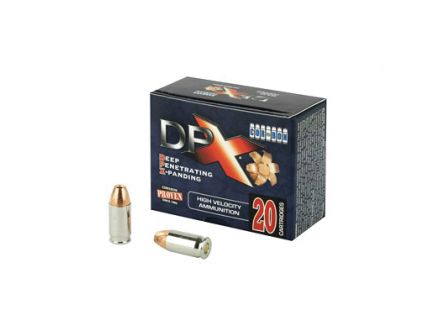 CorBon Deep Penetrating X Bullet 380 ACP Ammo 80 Grain Barnes X, 20 rds/box - DPX38080