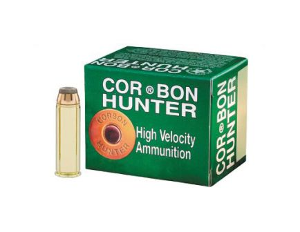 CorBon Hunting 454 Casull Ammo 240 Grain Jacketed Hollow Point, 20 rds/box - 454240JHP