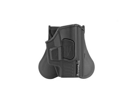 Bulldog Cases Rapid Release RH OWB Paddle Holster For Sig P365 Series, Black - RR-S365