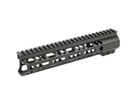 "2A Armament Builder Series 10"" MLOK Handguard For AR15 Rifles, Anodize Black - 2A-BSHG-10"