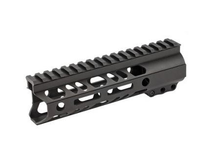 "2A Armament Builder Series 7"" MLOK Handguard For AR15 Rifles, Anodize Black - 2A-BSHG-7"