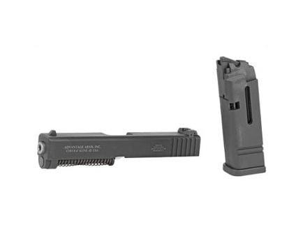 Advantage Arms Glock 19/23 Gen 4 .22 LR Conversion Kit With Barrel, 10 Round Magazine, And Range Bag, Black - AAG19-23 G4